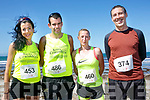Enjoying the 2017  Ballyheigue, Half on the Head & 10km Run on Saturday were Rachel Stokes, Ivan Tiedans, Tessie White and Chris Slattery