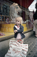 Morgan at Hamleys Toy Shop London 27th Aug 2004 (Film)