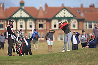 Attaya Thitikul (AM)(THA) on the 2nd during Round 3 of the Ricoh Women's British Open at Royal Lytham &amp; St. Annes on Saturday 4th August 2018.<br /> Picture:  Thos Caffrey / Golffile<br /> <br /> All photo usage must carry mandatory copyright credit (&copy; Golffile | Thos Caffrey)