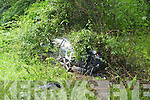 The scene of the two car collision in Muckross on Thursday morning.........................