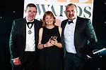 © Joel Goodman - 07973 332324 . 01/03/2018 . Manchester , UK . Team of the Year – Property winner is Eversheds Sutherland . The Manchester Evening News Legal Awards at the Midland Hotel in Manchester City Centre . Photo credit : Joel Goodman