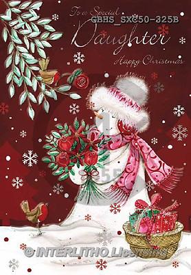 John, CHRISTMAS SANTA, SNOWMAN, WEIHNACHTSMÄNNER, SCHNEEMÄNNER, PAPÁ NOEL, MUÑECOS DE NIEVE, paintings+++++,GBHSSXC50-325B,#X#