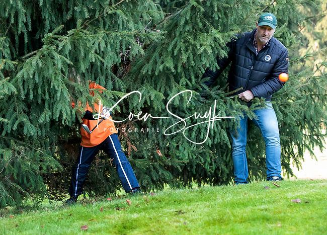 EEMNES - Bal tussen de bomen en takken.  Finales National Golfsixes League, georganiseerd door PGA Holland.  COPYRIGHT KOEN SUYK