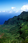 Hawaii: Kauai, Waimea Canyon and the Kalalau Valley Overlook.  Photo hifree104.Photo copyright Lee Foster, 510/549-2202, lee@fostertravel.com, www.fostertravel.com