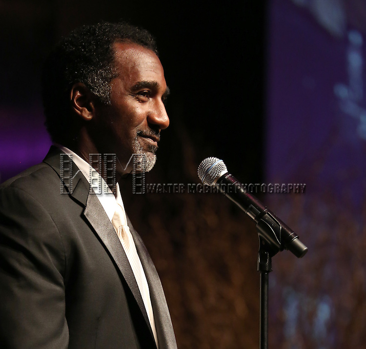 Norm Lewis  during the Celebration Gala Presentation honoring the 100th Anniversary of Actors' Equity Association at the Hilton Hotel in New York City on June 17, 2013