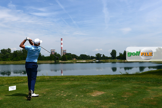 James Morrison of England during Round 3 of the Lyoness Open, Diamond Country Club, Atzenbrugg, Austria. 11/06/2016<br /> Picture: Richard Martin-Roberts / Golffile<br /> <br /> All photos usage must carry mandatory copyright credit (&copy; Golffile | Richard Martin- Roberts)