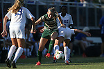 31 August 2014: UAB's Johanna Liney (2). The Duke University Blue Devils hosted the University of Alabama Birmingham Blazers at Koskinen Stadium in Durham, North Carolina in a 2014 NCAA Division I Women's Soccer match. Duke won the game 3-1.