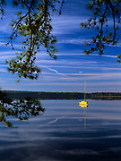 Lake Massabesic in Auburn, New Hampshire USA