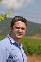 Nikos Karatzas, oenologist winemaker. Ktima Pavlidis Winery, Drama, Macedonia, Greece