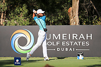 Tommy Fleetwood (ENG) on the 16th during the final round of the DP World Tour Championship, Jumeirah Golf Estates, Dubai, United Arab Emirates. 19/11/2017<br /> Picture: Golffile | Fran Caffrey<br /> <br /> <br /> All photo usage must carry mandatory copyright credit (© Golffile | Fran Caffrey)