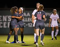 Stanford, CA - October 3, 2019: Catarina Macario, Maya Doms at Laird Q Cagan Stadium. The Stanford Cardinal beat the Washington State Cougars 5-0.