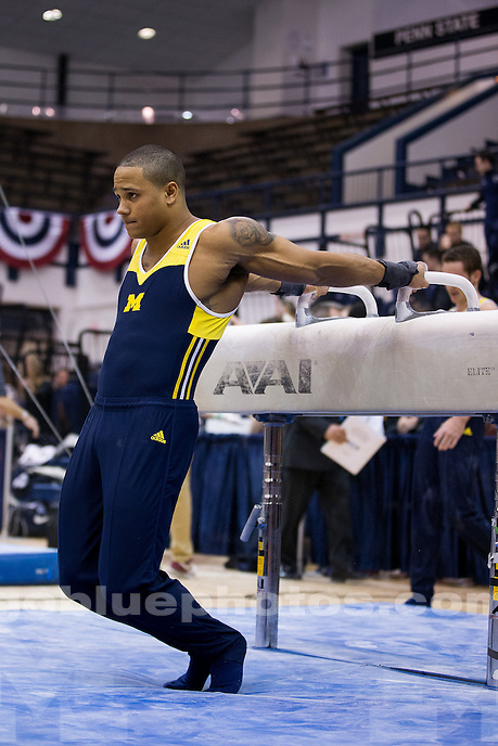 Big Ten Men's Gymnastics Team and All-Around Championships at Penn State on March 27, 2015.