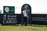 Francesco Laporta (ITA) on the 16th during Round 3 of the Saudi International at the Royal Greens Golf and Country Club, King Abdullah Economic City, Saudi Arabia. 01/02/2020<br /> Picture: Golffile | Thos Caffrey<br /> <br /> <br /> All photo usage must carry mandatory copyright credit (© Golffile | Thos Caffrey)