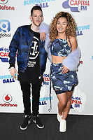 Sigala and Ella Eyre<br /> at the Capital Summertime Ball 2017, Wembley Stadium, London. <br /> <br /> <br /> &copy;Ash Knotek  D3278  10/06/2017