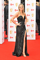 Charlotte Hawkins at the British Academy (BAFTA) Television Awards 2019, Royal Festival Hall, Southbank Centre, Belvedere Road, London, England, UK, on Sunday 12th May 2019.<br /> CAP/CAN<br /> ©CAN/Capital Pictures