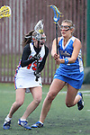 Santa Barbara, CA 02/19/11 - Brittini Peck (Florida #15) and Laurel Ormiston (UCLA #17) in action during the UCLA-Florida game at the 2011 Santa Barbara Shootout.