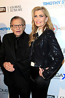 BEVERLY HILLS - NOV 11: Larry King, Shawn King at AMT's 2017 D.R.E.A.M. Gala benefiting Autism Works Now at Montage Beverly Hills on November 11, 2017 in Beverly Hills, California