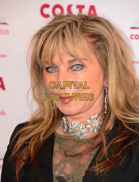 LONDON, ENGLAND - JANUARY 28: Helen Lederer attends annual Costa Book Of The Year Award 2013 at Quaglino's, 16 Bury Street, on 28 January, 2014 in London, England.   <br /> CAP/JOR<br /> &copy;Nils Jorgensen/Capital Pictures