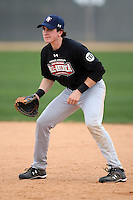 January 16, 2010:  Sean Flanagan (Framingham, MA) of the Baseball Factory Northeast Team during the 2010 Under Armour Pre-Season All-America Tournament at Kino Sports Complex in Tucson, AZ.  Photo By Mike Janes/Four Seam Images