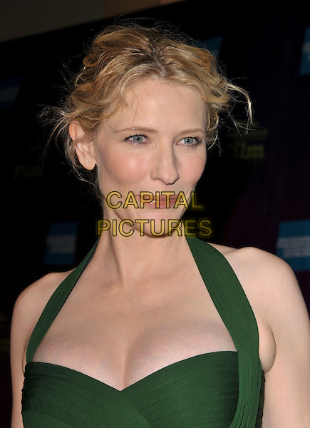 CATE BLANCHETT.Attends The 23rd annual Santa Barbara International Film Festival's Modern Master Award Presentation held at The Arlington Theatre in Santa Barbara, California, USA, January 26th 2008..portrait headshot green halterneck.CAP/DVS.©Debbie VanStory/Capital Pictures