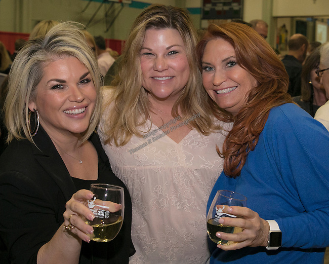 Christy Quatro, Kelli Newman and Be-Be Adams during the Jack T. Reviglio Cioppino Feed & Auction at the Donald W. Reynolds Facility in Reno on Saturday, February 25, 2017.