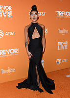 02 December 2018 - Beverly Hills, California - Gia Gunn. 2018 TrevorLIVE Los Angeles held at The Beverly Hilton Hotel. <br /> CAP/ADM/BT<br /> &copy;BT/ADM/Capital Pictures