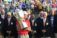 Rory McIlroy (NIR) wins the tournament with a score of -13 and 8 shots clear of the field at the end of Sunday's Final Round of the 94th PGA Golf Championship at The Ocean Course, Kiawah Island, South Carolina, USA 11th August 2012 (Photo Eoin Clarke/www.golffile.ie)