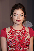 NEW YORK, NY - FEBRUARY 7: Lucy Hale at the 2018 amfAR Gala New York honoring Lee Daniels and Stefano Tonchi at Cipriani Wall Street in New work City on February 7, 2018. <br /> CAP/MPI99<br /> &copy;MPI99/Capital Pictures