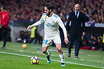 "Real Madrid Francisco Roman ""Isco"" during La Liga match between Atletico de Madrid and Real Madrid at Wanda Metropolitano in Madrid, Spain. November 18, 2017. (ALTERPHOTOS/Borja B.Hojas)"