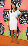 LOS ANGELES, CA. - March 27: Rosario Dawson arrives at Nickelodeon's 23rd Annual Kid's Choice Awards at Pauley Pavilion on March 27, 2010 in Los Angeles, California.