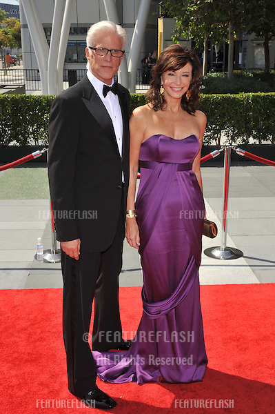 Ted Danson & wife Mary Steenburgen at the 2009 Creative Arts Emmy Awards at the Nokia Theatre L.A. Live in Downtown Los Angeles..September 12, 2009  Los Angeles, CA.Picture: Paul Smith / Featureflash