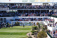 A general view of the 16th hole during the final round of the Waste Management Phoenix Open, TPC Scottsdale, Phoenix, Arizona, USA. 01/02/2020<br /> Picture: Golffile | Phil INGLIS<br /> <br /> <br /> All photo usage must carry mandatory copyright credit (© Golffile | Phil Inglis)