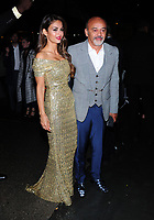 NEW YORK, NY - September 10: Christian Louboutin and Guest Arrives at The World Premiere of 'A Simple Favor' on September 10, 2018 in New York City, USA.<br /> CAP/MPI/JP<br /> &copy;JP/MPI/Capital Pictures