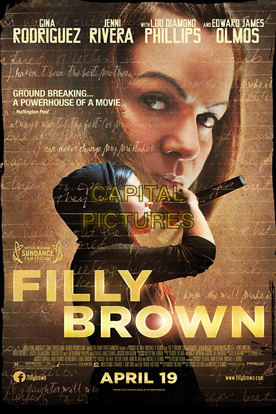 Filly Brown (2012) <br /> POSTER ART<br /> *Filmstill - Editorial Use Only*<br /> CAP/KFS<br /> Image supplied by Capital Pictures