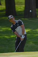 Xander Schauffele (USA) chips on to 1 during round 3 of the World Golf Championships, Mexico, Club De Golf Chapultepec, Mexico City, Mexico. 3/3/2018.<br /> Picture: Golffile | Ken Murray<br /> <br /> <br /> All photo usage must carry mandatory copyright credit (&copy; Golffile | Ken Murray)