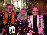 Micheal Musto at the 2020 NYC Glam Awards with Fred Schneider of the b52s celebrity journalist Eileen Shapiro , Get Out Magazine CEO Mike Todd, and CherryJubilee creator of the Glam Awards