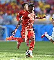 FUSSBALL WM 2014  VORRUNDE    Gruppe H     Belgien - Algerien                       17.06.2014 Divock Origi (Belgien) am Ball