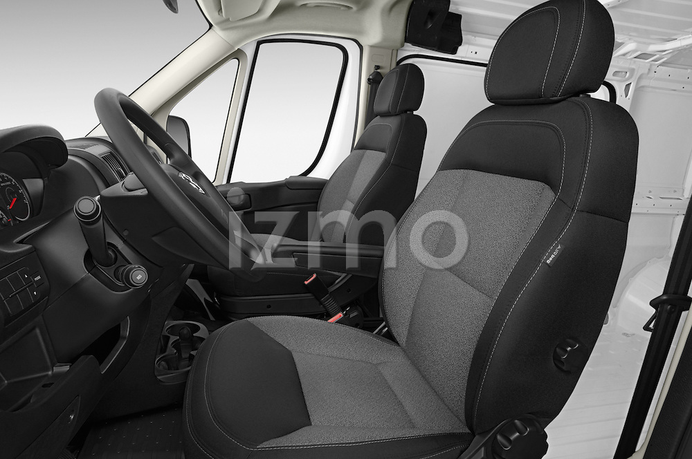 Front seat view of2014 Ram Promaster 1500 136 WB Low Roof 3 Door Cargo Van Front Seat car photos