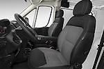 Front seat view of2014 Ram Promaster 1500 136 WB Low Roof 3 Door Cargo Van Front Seat car photos