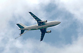 EADS Airbus A300 tanker test-bed at the Farnborough International Airshow .