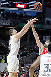 Real Madrid's Jaycee Carroll during Euroleague match. January 28,2016. (ALTERPHOTOS/Acero)