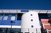 Peckham Pulse, an award-winning Southwark Council leisure centre, South London.