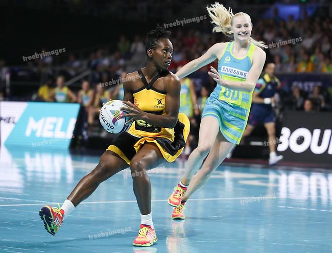 2016 Fast 5 Netball World Series<br /> Game 4<br /> Australia v Jamaica
