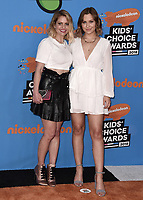 LOS ANGELES, CA - MARCH 24:  Candace Cameron Bure and Natasha Bure at Nickelodeon's 2018 Kids' Choice Awards at The Forum on March 24, 2018 in Los Angeles, California. (Photo by Scott KirklandPictureGroup)