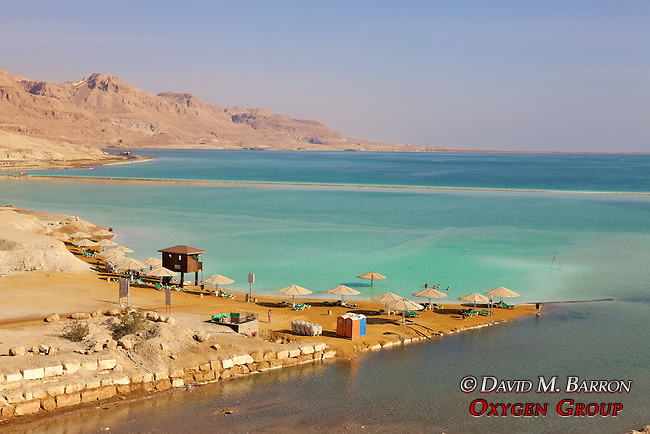 Beach At The Dead Sea