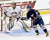 Chris Venti (BC - 30), Robert Kay (Toronto - 20) - The Boston College Eagles defeated the visiting University of Toronto Varsity Blues 8-0 in an exhibition game on Sunday afternoon, October 3, 2010, at Conte Forum in Chestnut Hill, MA.