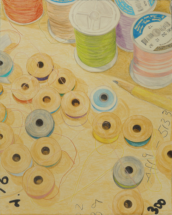 Memory of Home: Gifty's Bobbins and Threads. (Laurel, MD.) Continental Drift. <br />