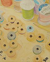 Memory of Home: Gifty&rsquo;s Bobbins and Threads. (Laurel, MD.) Continental Drift. <br />
