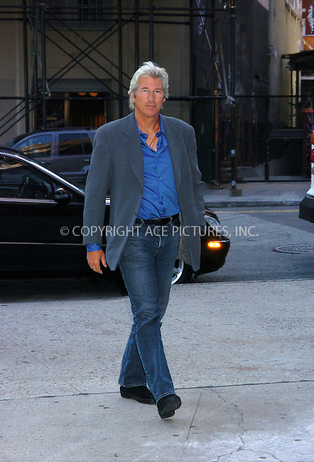 Actor Richard Gere attended a reading of the United States Constitution at the Great Hall of the Cooper Union organised by the People for the American Way Foundation. New York City. September 1 2004. Please byline: AJ SOKALNER/ACEPIXS.com..*PAY-PER-USE*....IMPORTANT: Please note that our old trade name New York Photo Press has changed to ACE Pictures. New York Photo Press and ACE Pictures are both owned by All Celebrity Entertainment, Inc.......All Celebrity Entertainment, Inc..Contact: Alecsey Boldeskul, (646) 267 6913..Philip vaughan, (646) 769 0430..e-mail: info@acepixs.com..Philip.Vaughan@acepixs.com