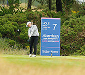 Sophie Walker (ENG) during the final round  of the 2016 Aberdeen Asset Management Ladies Scottish Open played at Dundonald Links Ayrshire from 22nd to 24th July 2016:  Picture Stuart Adams, www.golftourimages.com: 22/07/2016